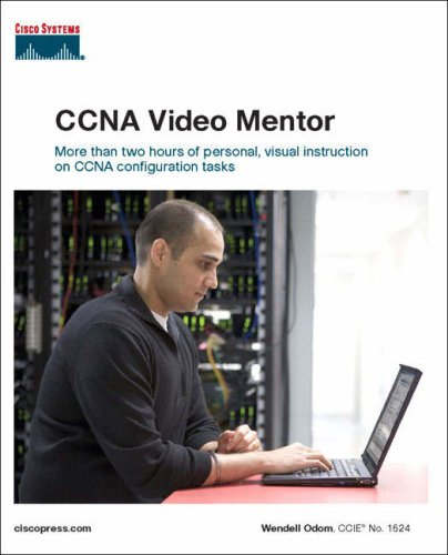 CCNA Video Mentor: (Exam 640-802) (Cisco Press Practical Studies) por Wendell Odom