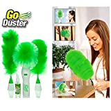 #9: Motorized Electric Go Duster Wet and Dry Duster With 3 Duster Handel and 1 Multi Spray