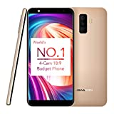 Mobile Phones Unlocked, LEAGOO M9 3G Android 7.0 Mobile Smartphones 5.5 inch 18:9