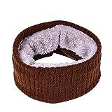 TianWlio Frauen Schals Mode Mann Frauen Dicke gestrickte Kragen Herbst Winter Warme Schal