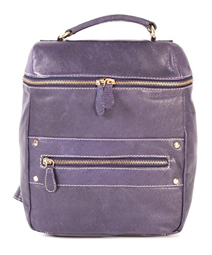Rl 663 Londres Violet en Cuir Véritable Sac à dos – Oxbridge Petit sac à main Fashion