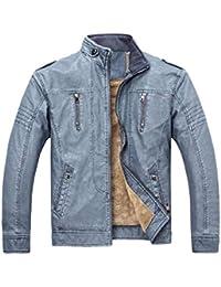 Lederjacke Winterjacke Herren Manadlian Männer Winter Tarnung Bluse  Verdickung Mantel Outwear Bluse Übergröße 03ed31bb10