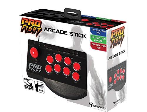 Joystick 'Pro Fight Arcade Stick' pour PS4/PS4 Slim/PS4 Pro/Xbox One/Xbox One S/PS3