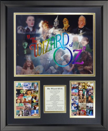 "Price comparison product image Legends Never Die Wizard of Oz - Mosaic Framed Photo Collage, 16"" x 20"""
