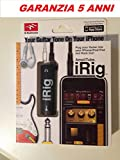 IRIG AMPLITUBE PER IPHONE 4, 4S, 5, 5C, 5SE, 5S, 6, 6 PLUS, 6S, 6S PLUS OLTRE A DISPOSITIVI APPLE IPAD