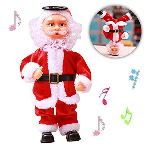 Santa Claus Dancing Singing Doll...
