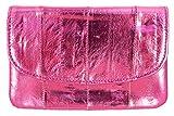 Becksöndergaard Damen Kleingeld Geldbörsen Handy Pink Metallic | Handlich klein für Geld & Karten | Weich & strapazierfähig aus weichem Leder - Morning Glory - 1810100008-303