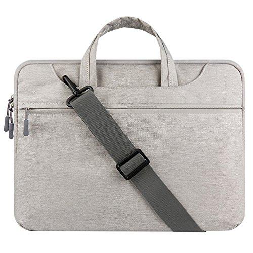 YiJee Custodia Protettiva per 11.6/12/13.3 Pollici Ventiquattrore / Macbook Pro Air con Chiusura Cerniere 13.3 Inch Grigio