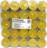 #5: AuraDecor Anti Mosquito & Bugs Smokeless Tealight (Herbal) Candles Pack of 50