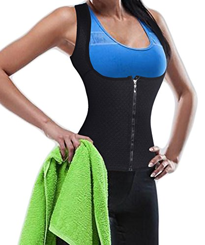 Keep Warm Suana-Suit Bodysuit Vest Sport Taille Cincher Body Shaper Taillenmieder Für Weight Loss (XL(2-3 Days Delivery), Black(2-3 Days Delivery)) (Thong Band Classic)
