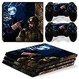 46 North Design pieno sticker della pelle skin Zombie Horror per le console PS4 Pro x 1 e controller x 2
