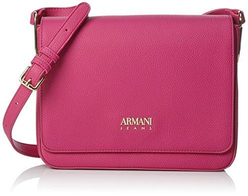 Armani - Borsa Tracolla, Borse a spalla Donna Rosa (Fuchsia)
