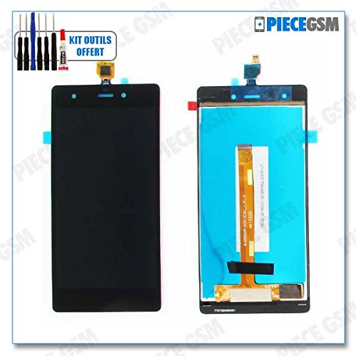 ECRAN LCD + VITRE Tactile pour WIKO Pulp 4G + Outils + Colle B7000