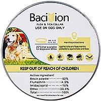 Bacivion Collar para perros, 8 meses de protección, aceites esenciales naturales (tamaño grande)