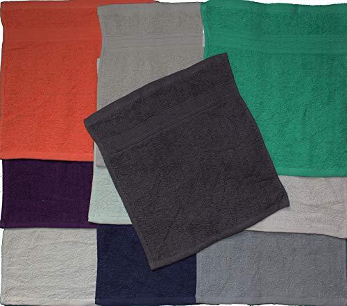 4f0f3e8f10 10 pezzi set di asciugamani, Lavette, Lavette, ca. 30 x 30 cm