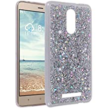 Funda para Xiaomi Redmi Note 3, Asnlove 3D Bling Brillante Glitter Carcasa Silicona Gel TPU Flexible Cover Crystal Clear Case Transparente Protectora Blanda Caso Caja Cubierta para Xiaomi Redmi Note 3/Note 3 Pro(5,5 Pulgadas)