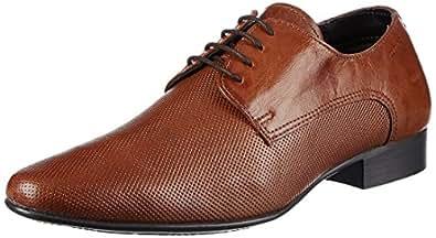 Red Tape Mens Derbys Tan Leather Formal Shoes 7 Ukindia 41 Eu