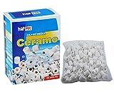 Happet Ceramo Filter Media 500 gr - Cannolicchi ceramici in ceramica ad alta porosità, in pratica retina apri e chiudi con cerniera