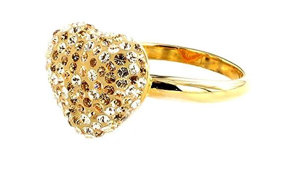 Grosser PHANTASYA Kristall Ring 617 72 (60 (19.1)): Amazon