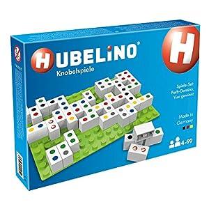 Hubelino GmbH 410054Juego: Color de Domino, Cuatro Ganar