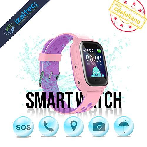 Smartwatch niños localizador GPS+WiFi+AGPS+LBS Llamadas