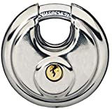 Vorhängeschloss 70mm, Bügelschloss, Edelstahl Disc Schloss 7cm Durchmesser