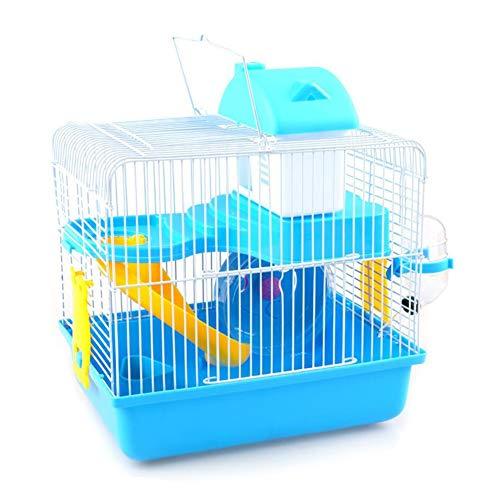 Haustier Hamster Käfig, Kleines Tierhaus, Hamster-Villa Mit Laufrad, Haus, Wasserkocher, Rutschbahn Käfige für Kleintiere