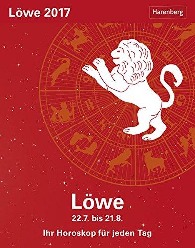 Löwe - Kalender 2017: Ihr Horoskop für jeden Tag