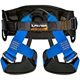 Fusion Fusion Climb Centaur Heavy Duty Military Tactical Padded Half Body Side Gear Loop Adjustable Harness 23kN M-L Blue