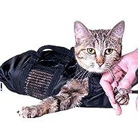 ASOCEA Preparación Pet Bolsa Bolsa de sujeción de baño del Gato 9(18Inx 9In)