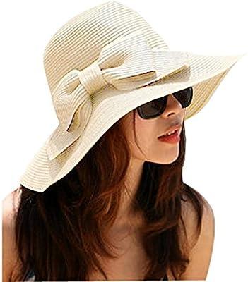 TININNA Bohemia Verano Sun Floppy Mujer Sombrero de la Playa de la Paja del Borde Grande Ancho Cap Moda de Viajes Vacaciones De Ala Ancha Sombrero Grande Gorro Para Muchacha