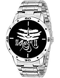 On Time Octus Mahadev Black Dial Analog Watch For Boys And Men-MH-Black-19