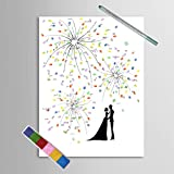 Guestbook nozze Beautiful Fireworks Sweet Lovers 11.8''x15.7 '' (M)