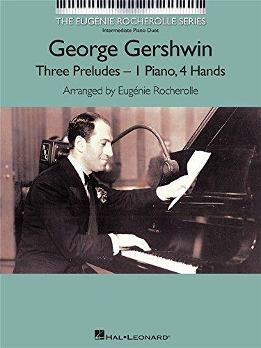 George Gershwin: drei Prelude. Noten für Klavier Duett