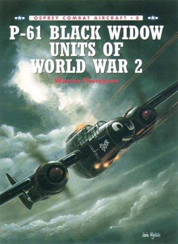 Price comparison product image P-61 Black Widow Units of World War 2 (Combat Aircraft)