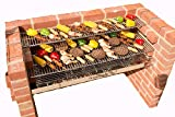 BLACK KNIGHT BARBECUES BKB 801 112 x 39 cm XL Barbecue kit - en Acier Inoxydable