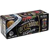 Kopparberg Raspberry Cider Can, 10 x 33cl