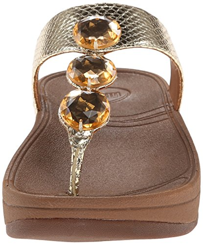 FitFlop - Petra - Womens - Pale Gold Pale Or