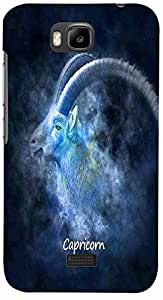 PRINTVISA Zodiac Capricorn Case Cover for Huawei Honor Bee
