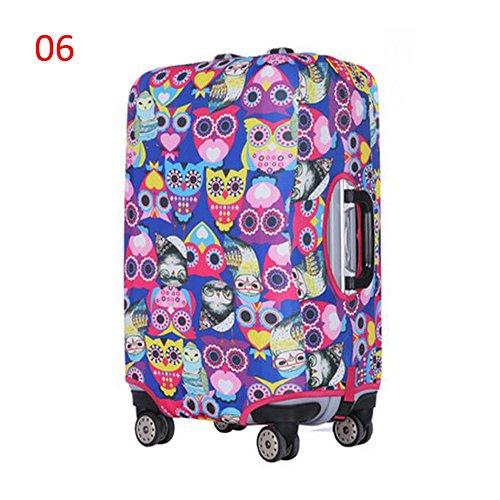 Zhuhaixmy Neu Elastisch Dustproof Gepäck Koffer Trolley Schutz Tasche Abdeckung Anti-Kratzer #06