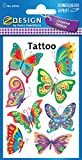 AVERY Zweckform 56742 Kinder Tattoos Schmetterling
