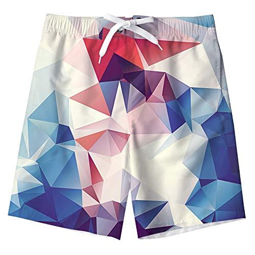 Idgreatim Jungen Ananas Drucken Badehose Sommer Cool Quick Dry Board Shorts Badeanzug mit Seitentaschen