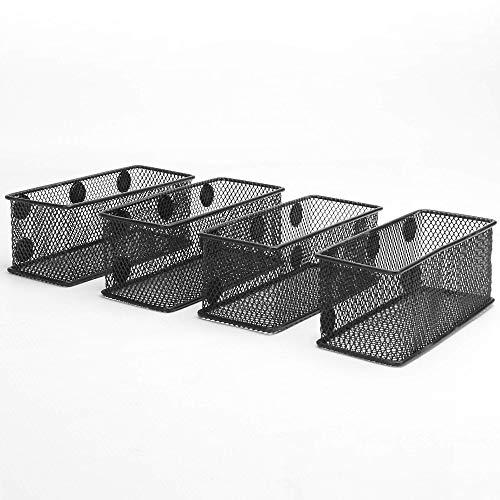 Th/ème Noir Sgaravatti KalaMitica Set 3 Pyramides Pots Magn/étiques /Ø 6 cm