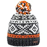 Barts Unisex Baby Baskenmütze Log Cabin Kids, Orange (Arancione 11), One Size (Herstellergröße: 53)