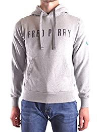 Fred Perry Homme MCBI128174O Gris Coton Sweatshirt