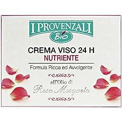 I Provenzali Crema Viso 24 H Nutriente Rosa Mosqueta, 1 x 50 ml