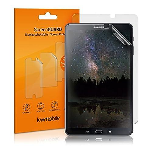 2x kwmobile Folie matt für Samsung Galaxy Tab A 10.1 (2016) T580N / T585N Displayschutzfolie - Schutzfolie Anti-Fingerabdruck Displayschutz Displayfolie