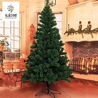 YBGQ-Knstliche-Weihnachtsbaum-PVC-Verschlsselung-Grn-Xmas-Kiefer-Mit-Metallstnder-Weihnachts-Dekoration-Home-Blo-Baum