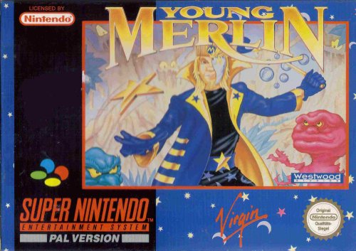 Young Merlin RPG (SNES) (Super Nintendo)