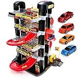 Garage Toys , 5-stöckige Spielzeuggarage , Auto-Service-Parkplatz Track Junge Track Toy Car